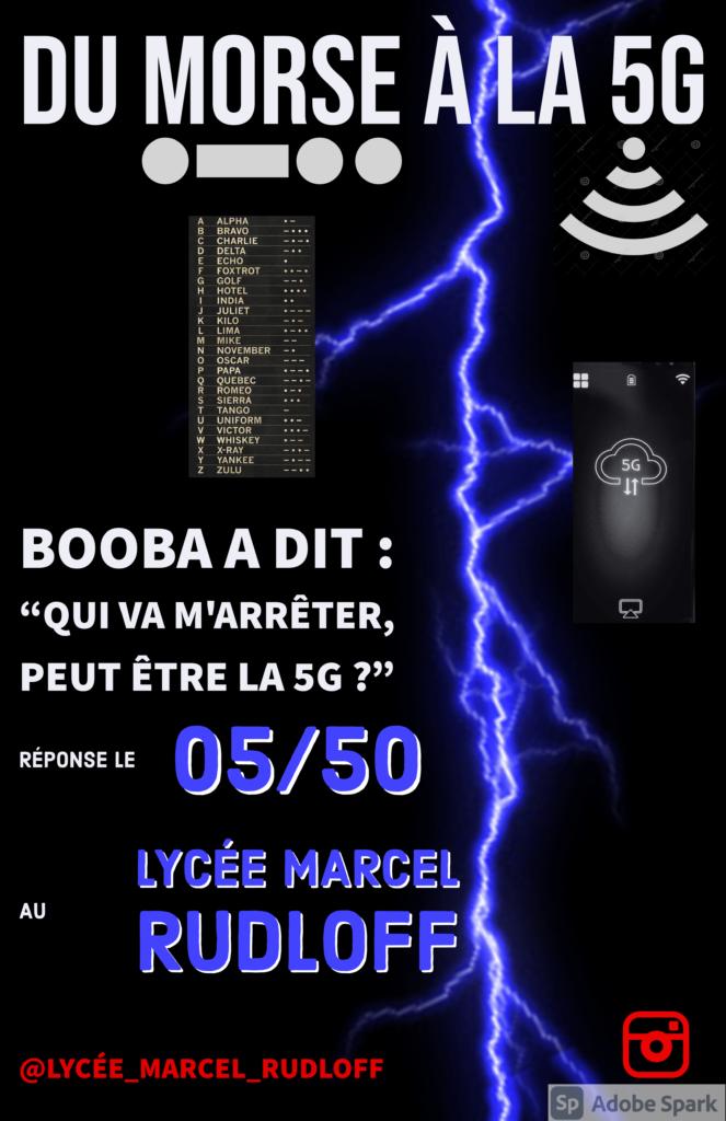 Affiche morse-5G
